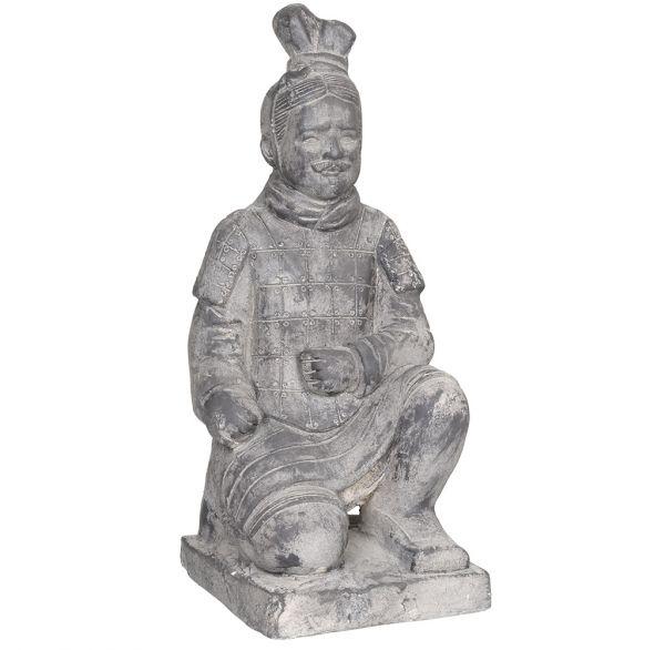Gartendeko Figur Terrakotta Krieger